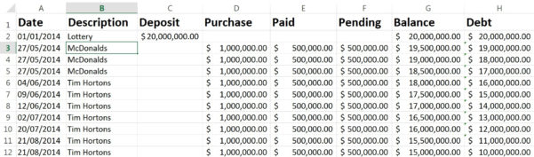 How To Create A Lottery Spreadsheet In Excel Regarding Worksheet Function  Managing Different Currencies In Excel Budget