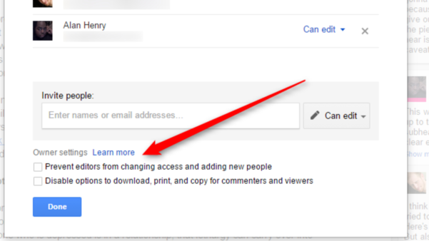 How To Create A Shared Spreadsheet Regarding Google Drive Now Lets You Block Downloading Or Copying Of Shared Files
