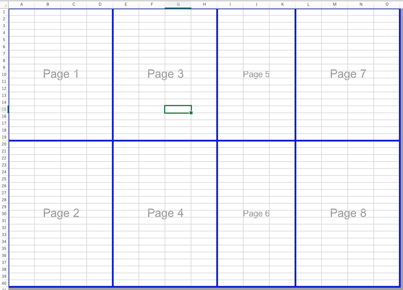 How To Create A Spreadsheet In Excel 2016 Pertaining To Create Manual Page Breaks In A Worksheet With Excel For Mac  Excel