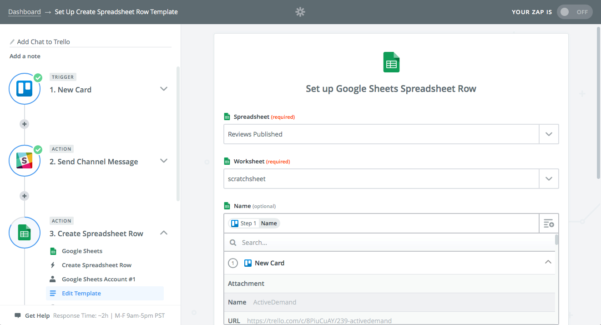 How To Create A Spreadsheet In Google With Regard To How To Automate Your Spreadsheets With Zapier