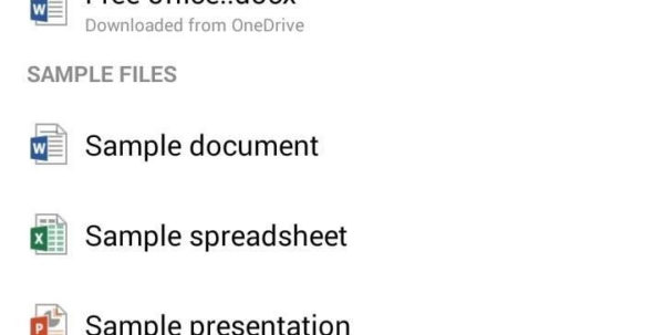 How To Create A Spreadsheet On Word Regarding How To Create  Edit Documents Using Microsoft Office For Android