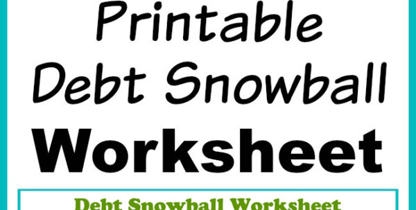 How To Create A Spreadsheet To Pay Off Debt Intended For Free Printable Debt Snowball Worksheet Pay Down Your Debt! How To Create A Spreadsheet To Pay Off Debt Spreadsheet Download