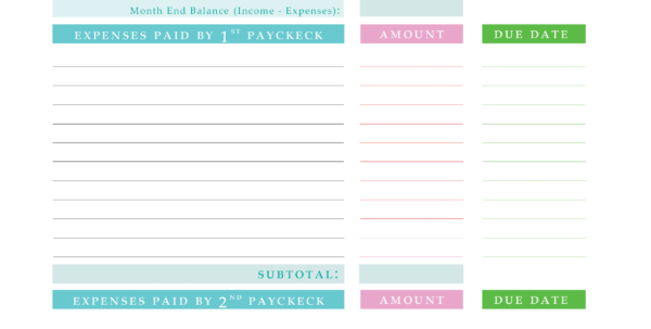 How To Create A Spreadsheet To Pay Off Debt With Regard To Paying Off Debt Worksheets