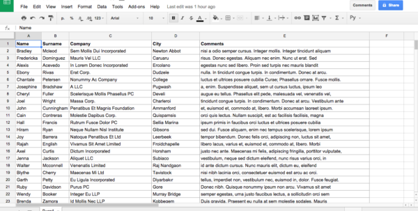 How To Create A Table In Google Spreadsheet Within Creating Wpdatatables From Google Spreadsheets  Wpdatatables Tables