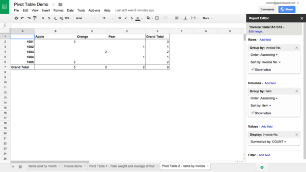 How To Create A Table In Google Spreadsheet Within Part 2: 6 Google Sheets Functions You Probably Don't Know But Should