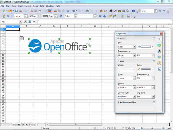 How To Create A Table In Openoffice Spreadsheet Intended For Aoo 4.0 Release Notes