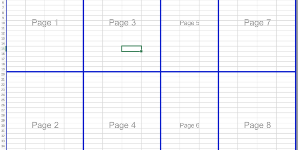 How To Create An Excel Spreadsheet Pertaining To Create Manual Page Breaks In A Worksheet With Excel For Mac  Excel