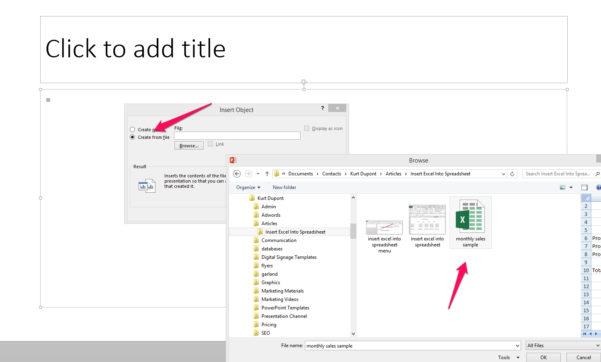 How To Create An Excel Spreadsheet Regarding Insert Excel Spreadsheet Into Powerpoint