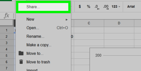How To Create Spreadsheet In Google Docs In How To Create A Graph In Google Sheets: 9 Steps With Pictures