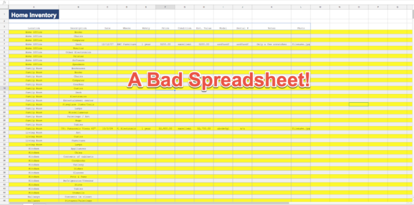 How To Design An Excel Spreadsheet With Regard To How To Make Your Excel Spreadsheets Look Professional In Just 12 Steps