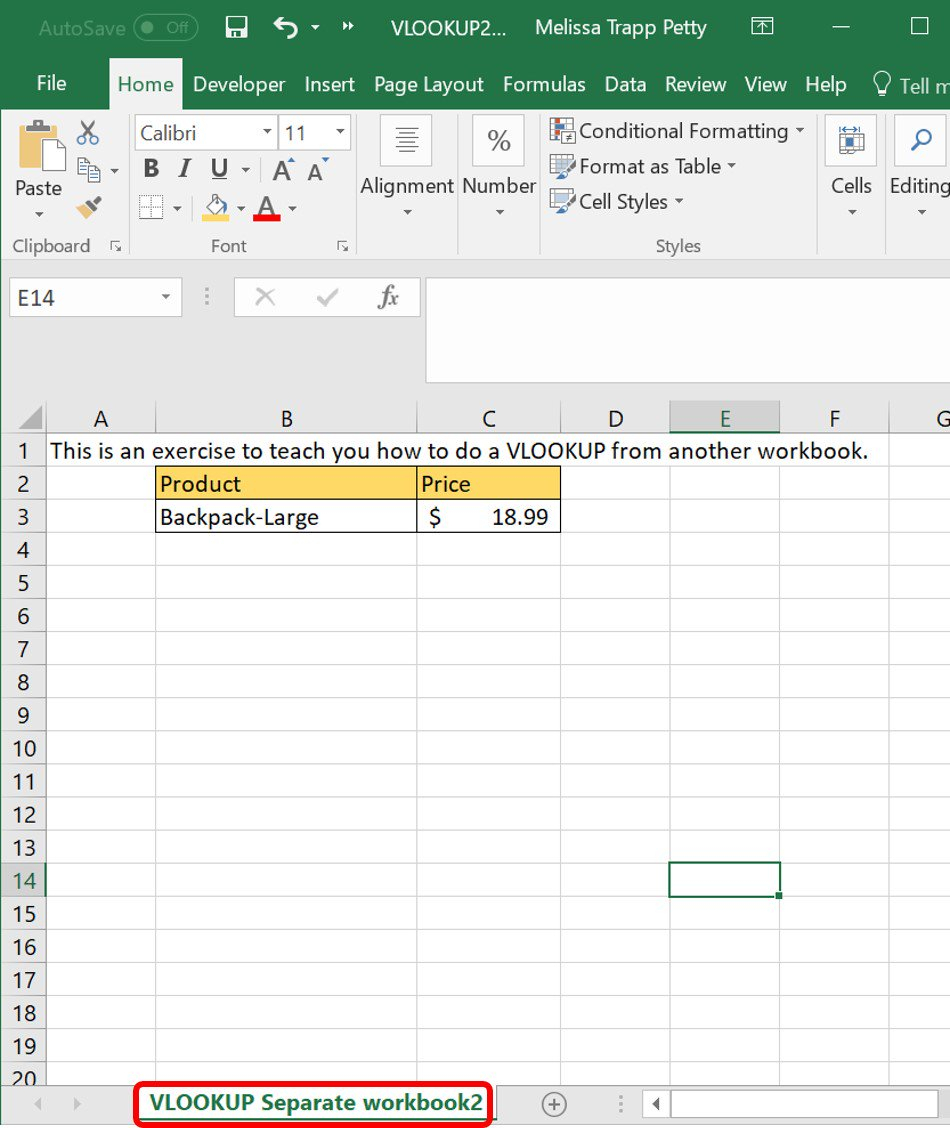 How To Do A Vlookup Between Two Spreadsheets In Vlookup Examples: An Intermediate Guide  Smartsheet