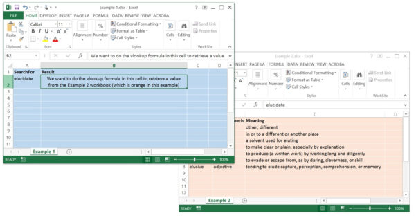 How To Do A Vlookup Between Two Spreadsheets Inside Vlookup Across 2 Workbooks  How To Do A Vlookup