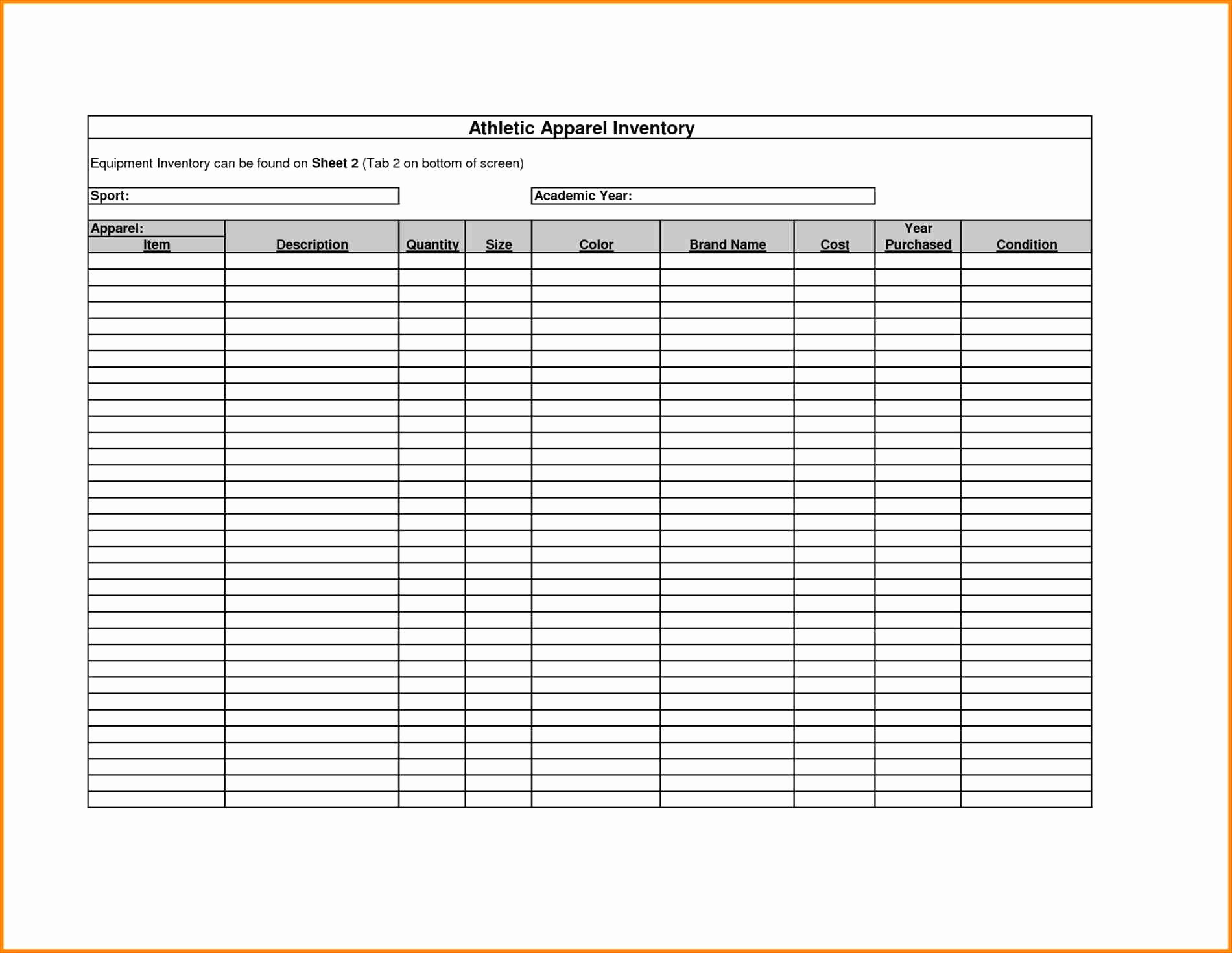 How To Do An Inventory Spreadsheet Intended For How To Make A Simple Inventory Spreadsheet  Islamopedia