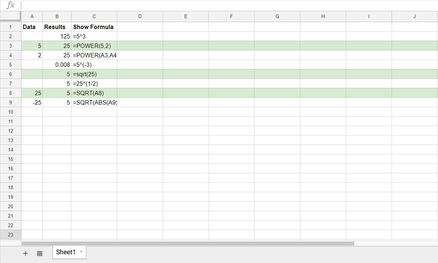 How To Do Spreadsheet Formulas With Regard To Show Or Hide Formulas In Google Sheets