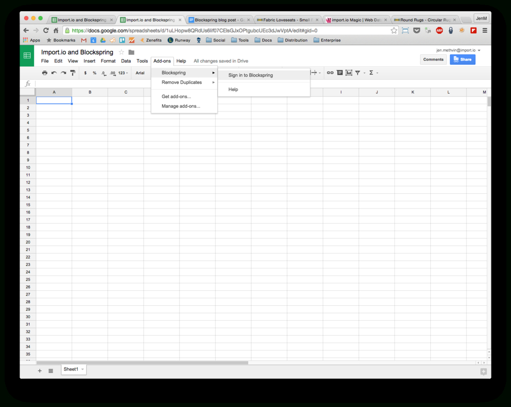 How To Get A Spreadsheet Within How To Get Live Web Data Into A Spreadsheet Without Ever Leaving