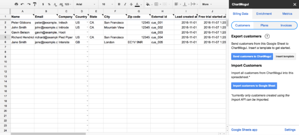 How To Insert Data In Google Spreadsheet With How To Import Trial And Lead Data From Google Sheets – Help Center