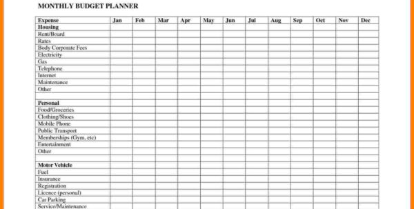 How To Keep A Budget Spreadsheet Regarding How To Keep Budget Spreadsheet Maker Free Monthly Planner You Track