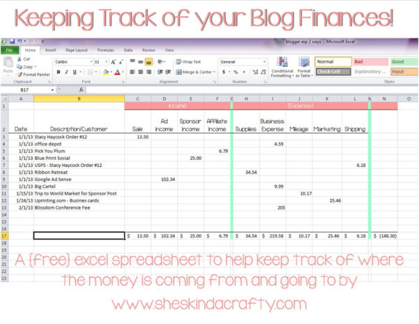 How To Keep Track Of Spending Spreadsheet Intended For Keeping Track Of Money Spreadsheet  Resourcesaver