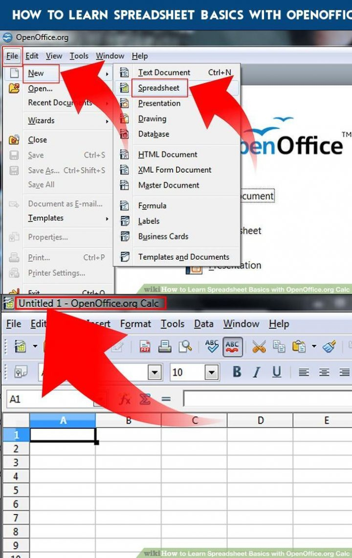 How To Learn Spreadsheets In How To Learn Spreadsheet Basics With Openoffice Calc  Practical
