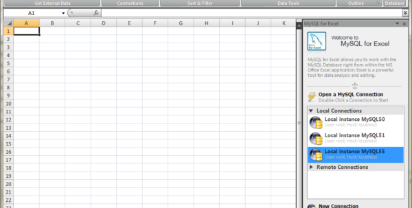 How To Link An Excel Spreadsheet To A Web Page In Mysql :: Mysql For Excel