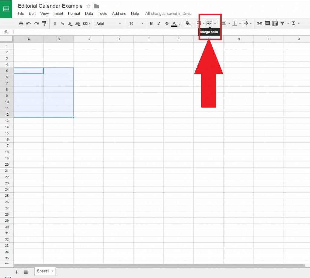 How To Make A Calendar In Google Spreadsheet Inside How To Create A Free Editorial Calendar Using Google Docs  Tutorial