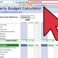 How To Make A Financial Spreadsheet In Excel Throughout How To Create An Excel Financial Calculator: 8 Steps