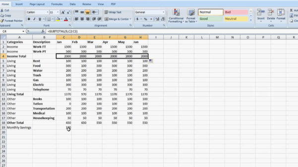 How To Make A Good Budget Spreadsheet Throughout Small Business Spreadsheet For Income And Expenses How To Make Good