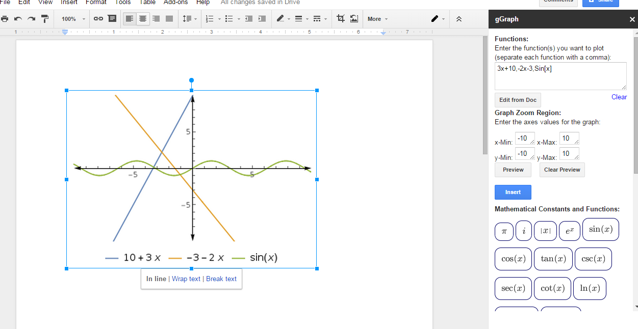 How To Make A Graph In Google Spreadsheet In How To Make A Graph In Google Sheets Ipad  Homebiz4U2Profit