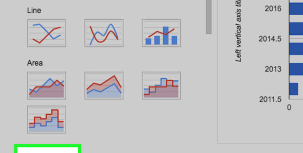 How To Make A Graph In Google Spreadsheet Inside How To Create A Graph Using A Spreadsheet With Pictures