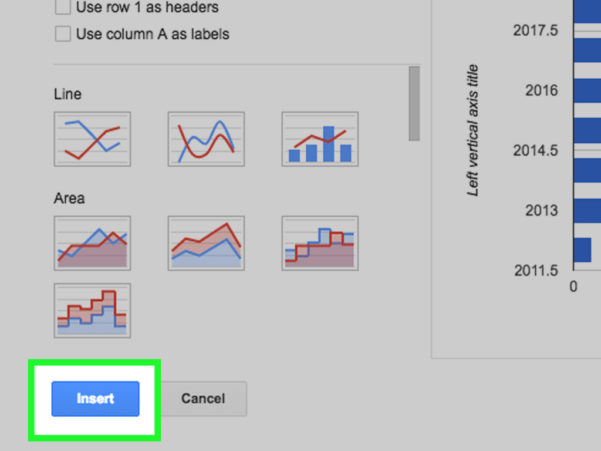 How To Make A Graph In Spreadsheet Within How To Create A Graph Using A Spreadsheet With Pictures