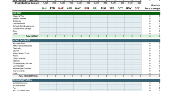 How To Make A Home Budget Spreadsheet Excel Throughout Home Budget Spreadsheet Excel 2010 Best Create Bud Sample Personal