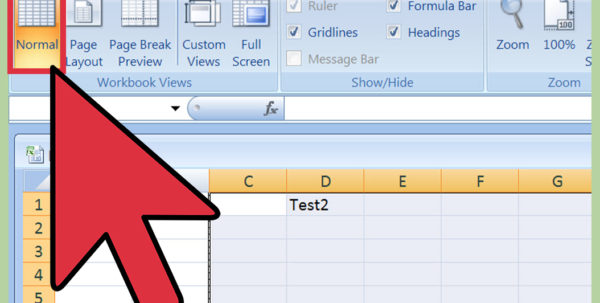 How To Make A Microsoft Excel Spreadsheet Pertaining To How To Insert A Page Break In An Excel Worksheet: 11 Steps