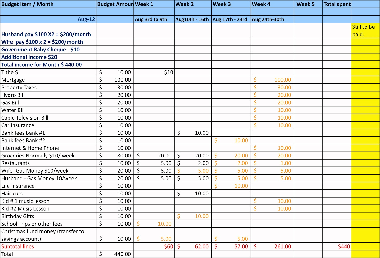 How To Make A Simple Spreadsheet Regarding Spreadsheet How To Make Simple Budget Sheet Creating Worksheet L