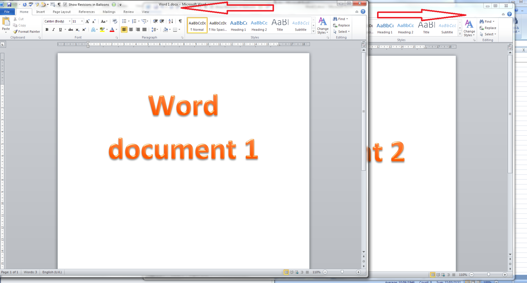 How To Make A Spreadsheet In Excel 2010 Regarding How Do I View Two Excel Spreadsheets At A Time?  Libroediting
