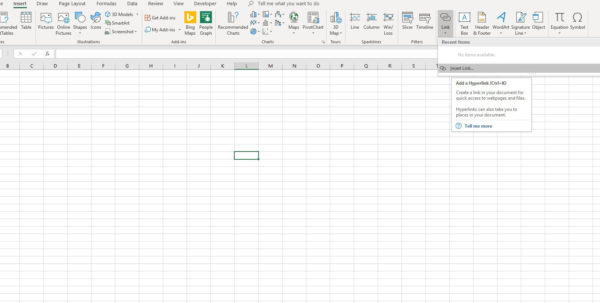 How To Make A Spreadsheet In Excel 2010 Within Excel Hyperlinks, Bookmarks, And Mailto Links
