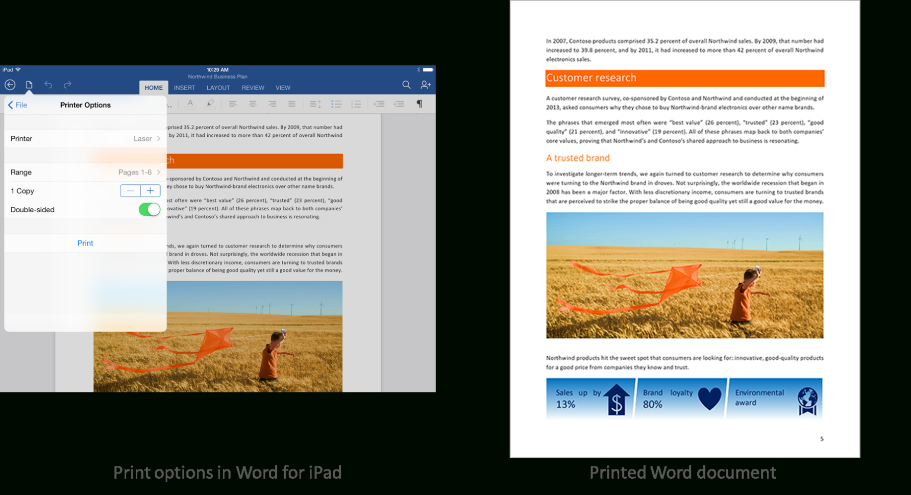 How To Make A Spreadsheet On Ipad With Regard To Office For Ipad Now Includes Printing  Microsoft 365 Blog