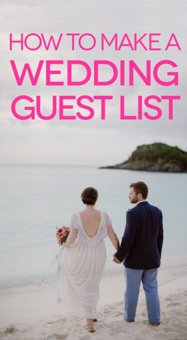 How To Make A Wedding List Spreadsheet In Wedding Guest List: Let's Get Started  A Practical Wedding
