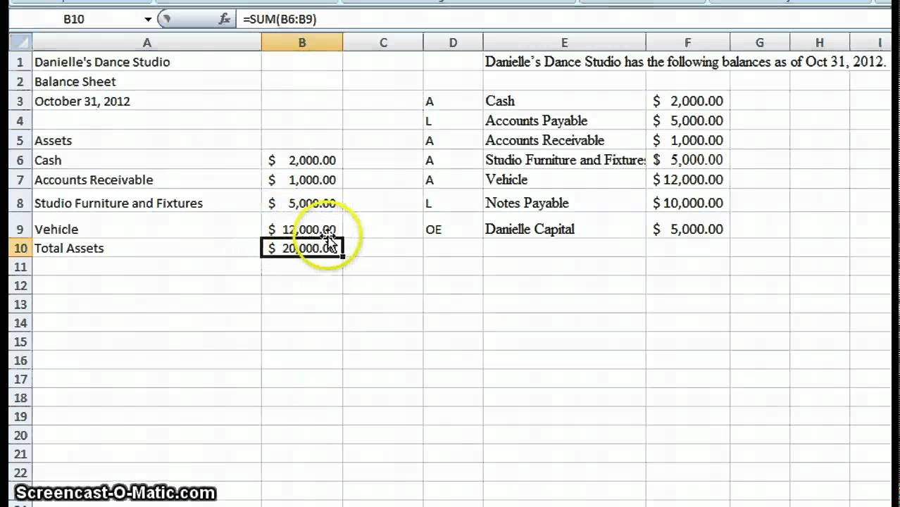 How To Make An Accounting Spreadsheet Intended For Spreadsheet Example Of Simple Accounting Template How To Make