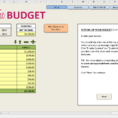 How To Make An Excel Spreadsheet For Budget Intended For Easy Budget Spreadsheet Excel Template  Savvy Spreadsheets