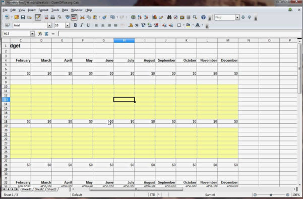 How To Make An Excel Spreadsheet For Monthly Expenses Pertaining To How To Create A Monthly Budget Spreadsheet In Excel  Resourcesaver