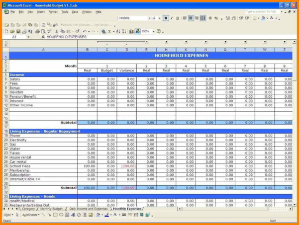 How To Make An Excel Spreadsheet For Small Business With Excel Spreadsheet For Small Business How To Make An Sheet Template