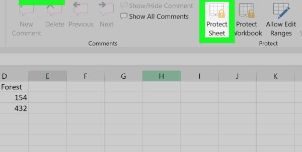 How To Make An Excel Spreadsheet Into A Fillable Form Throughout How To Create A Form In A Spreadsheet With Pictures  Wikihow