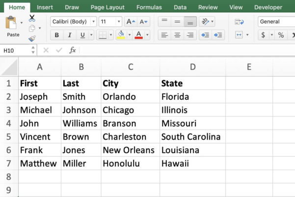 How To Make An Excel Spreadsheet Shared 2016 Pertaining To Perform A Microsoft Word Mail Merge From Within Excel