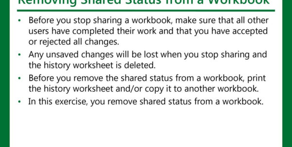 How To Make An Excel Spreadsheet Shared 2016 With Regard To Microsoft Official Academic Course, Microsoft Excel Core Ppt Download