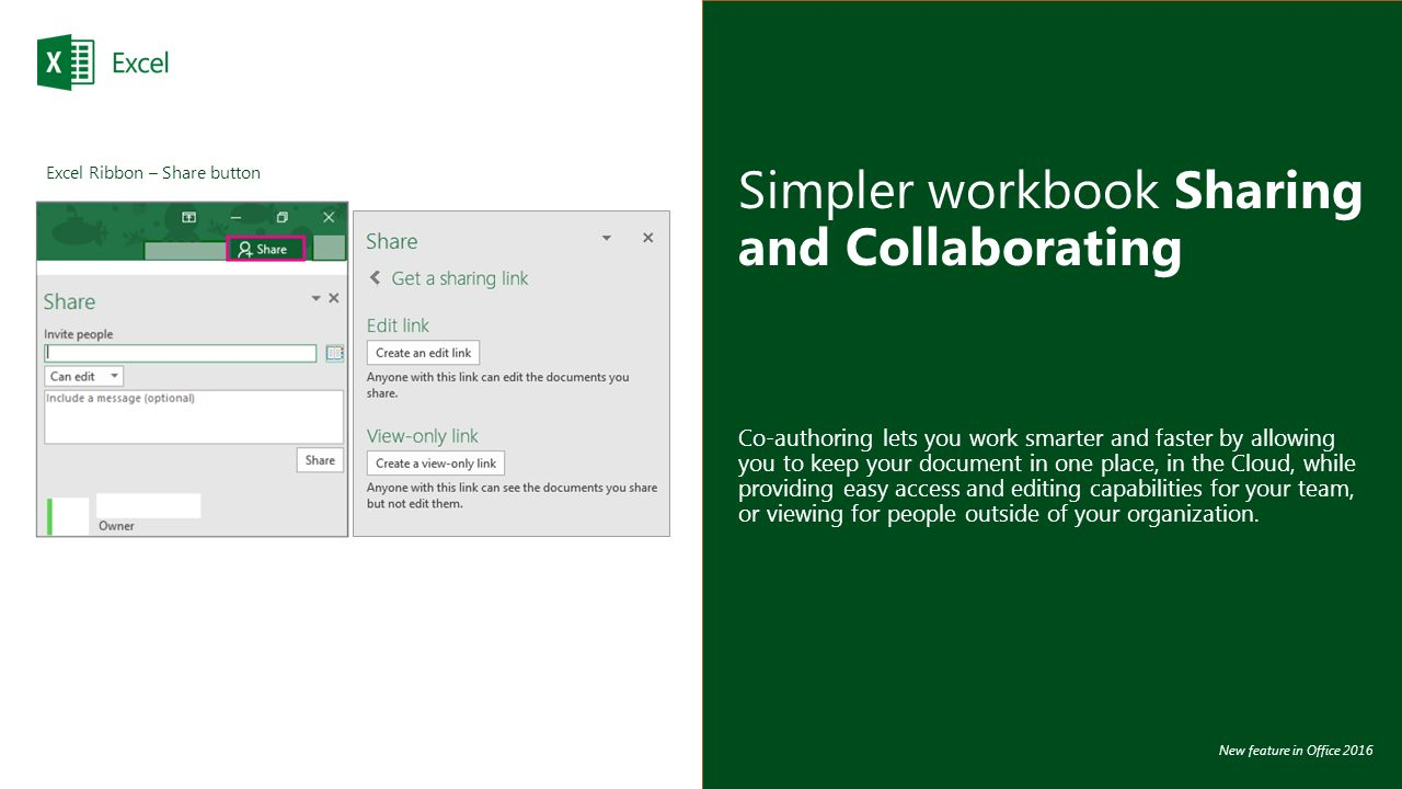 How To Make An Excel Spreadsheet Shared 2016 Within Microsoft Excel 2016 Quick Tips  Shortcuts To Save You Time Mcc