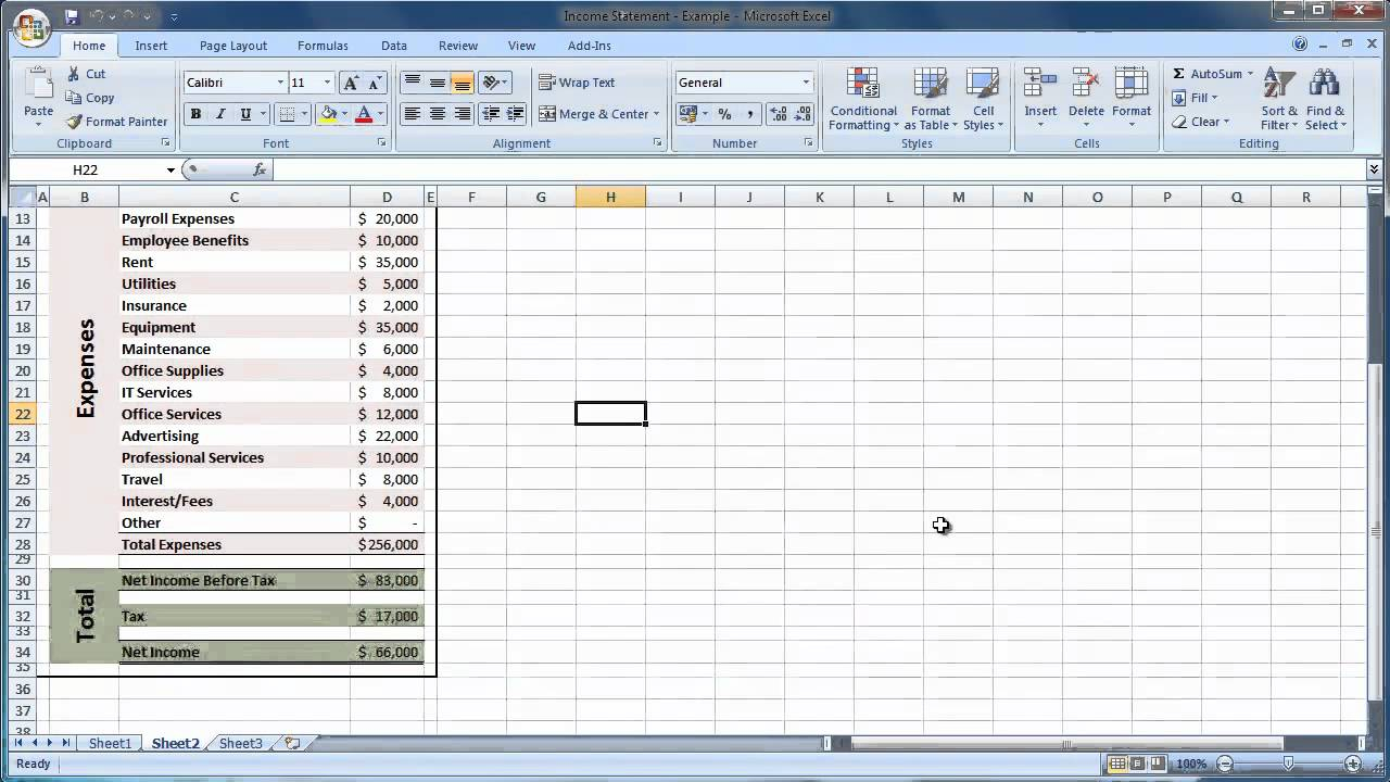 How To Make An Expenses Spreadsheet Inside Basic Income And Expenses Spreadsheet Simple Expense On Create An