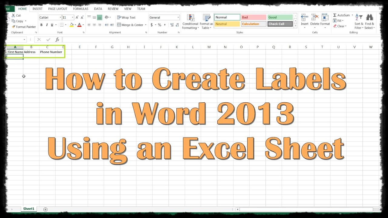 How To Make Labels From Excel Spreadsheet With How To Make Labels From Excel Spreadsheet 2018 Google Spreadsheets