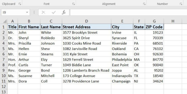 How To Make Mailing Labels From Excel Spreadsheet Throughout How To Print Labels From Excel