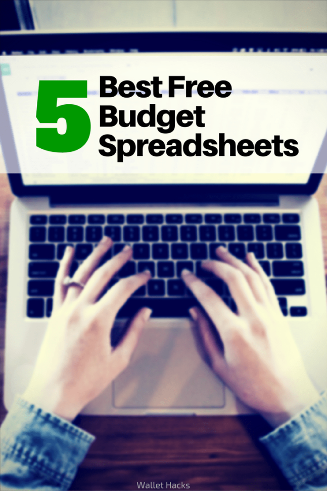 How To Make Your Own Budget Spreadsheet In Best Microsoft Excel Budgeting Spreadsheets  Free Household