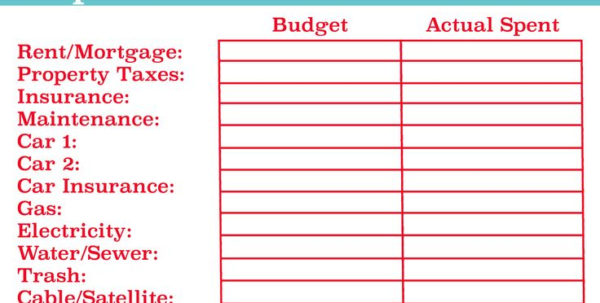 How To Make Your Own Budget Spreadsheet Regarding Tutorial How To Make Your Own Budget Spreadsheet  Homebiz4U2Profit
